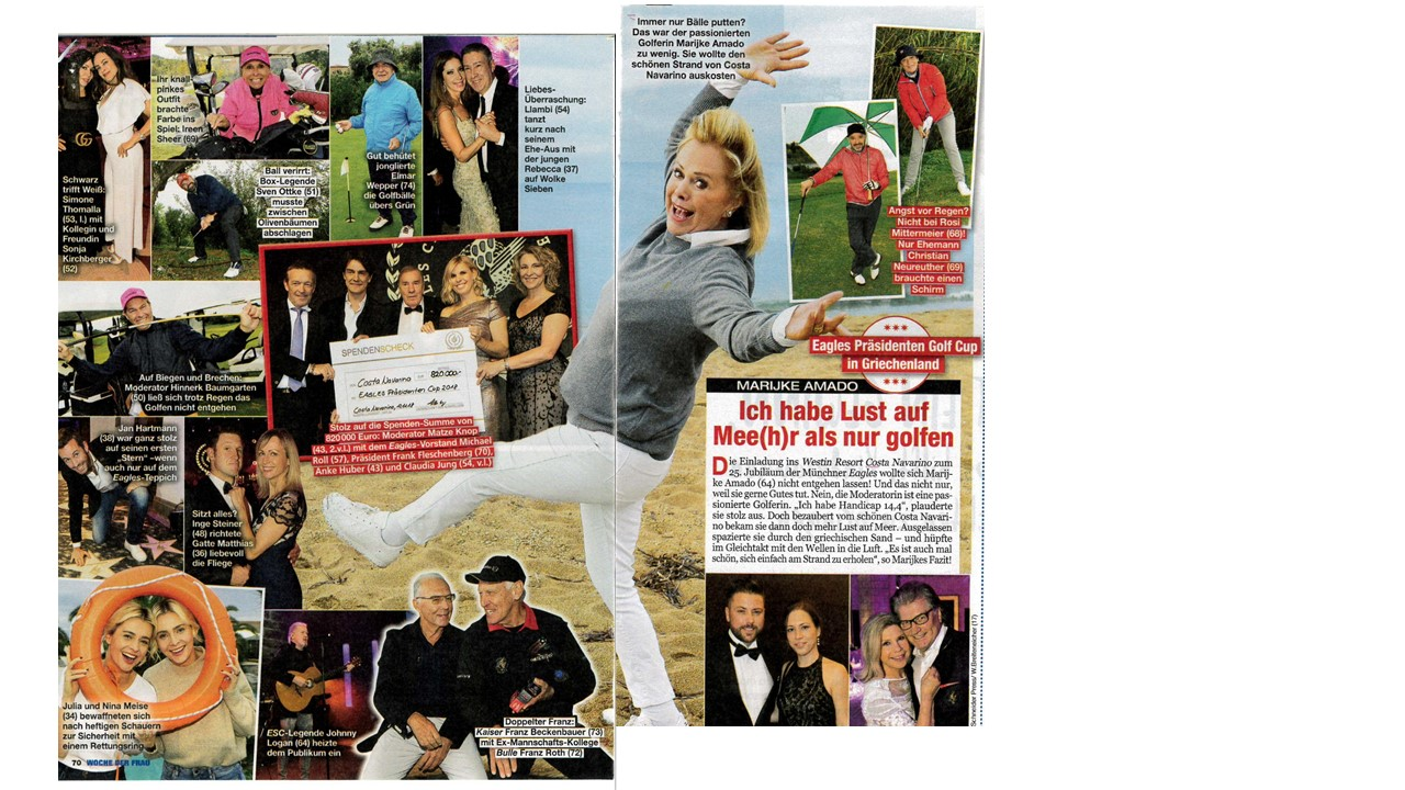 Presse | EAGLES Charity Golf Club e.V.